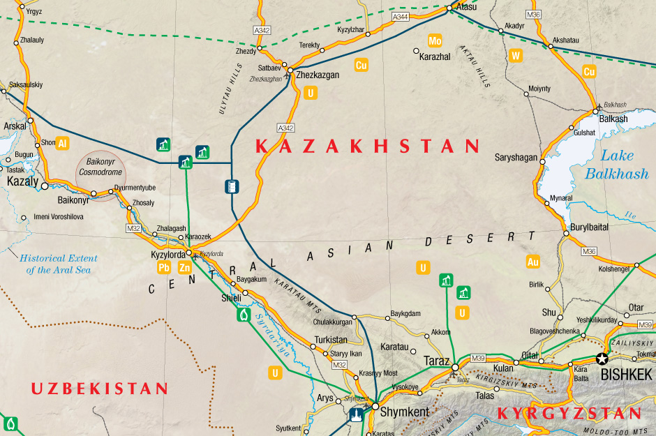 Kazakhstan Energy and Mining